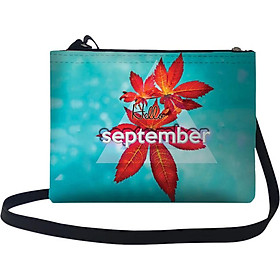 Túi Đeo Chéo Nữ In Hình Hello September - TUTE043