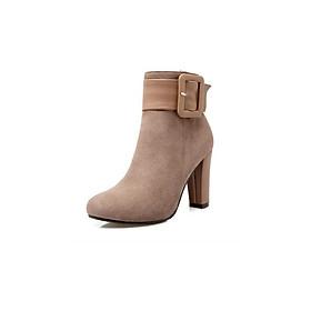 Giày Boot nữ cao gót cá tính 082BX