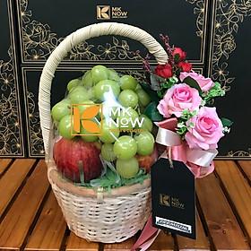 [Chỉ Giao HCM] - Giỏ trái cây tặng quà cô giáo mầm non 20.10 & 20.11 & 8.3 - FSNK189