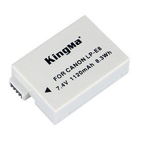 Pin máy ảnh Canon LP-E8 - KingMa chính hãng