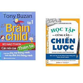 Combo 2 cuốn sách: Tony Buzan - Bộ Não Tí Hon Cái Nôi Của Thiên Tài (Tập 1) + Học Tập Cũng Cần Chiến Lược