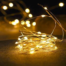 1 bộ dây đèn Fairy Light đom đóm chipsbling 2 mét dùng pin AA