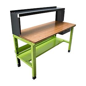 Bàn nguội thao tác cơ khí Workbench mặt bàn tre phòng Lab WB-lab