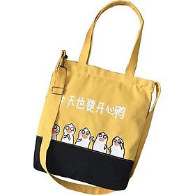 Túi Vải Tote XinhStore Hai Thân