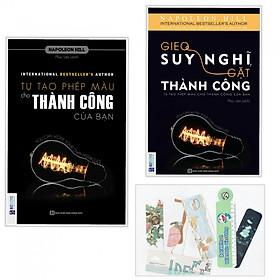 Combo tự tạo phép màu cho thành công của bạn + gieo suy nghĩ gặt thành công ( tặng kèm bookmark)