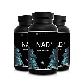 HPN NAD+ Booster – Nicotinamide Riboside Alternative (NAD3) for Men & Women | Anti Aging NRF2 Activator, Superior to NADH – Natural Energy Supplement for Longevity & Cellular Health, 60 Caps, 3-Pack