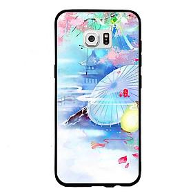Hình đại diện sản phẩm Ốp lưng viền TPU cho điện thoại Samsung Galaxy S7 - Diên Hi Công Lược Mẫu 7