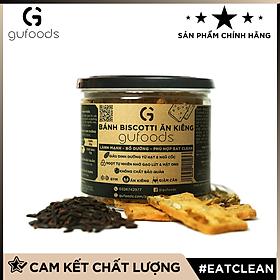 Bánh Biscotti ăn kiêng GUfoods (Vị hạt mix) - Lành mạnh, bổ dưỡng, phù hợp eat clean