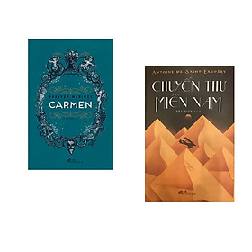 Combo 2 cuốn sách: Carmen + Chuyến thư miền nam