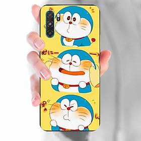 Ốp lưng dành cho Vsmart Active 3  mẫu 3 Doraemon nền vàng