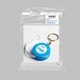 Thước dây cuộn tròn có thể móc vào chìa khóa ( màu ngẫu nhiên )