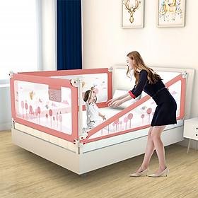 Thanh chắn giường cho bé an toàn cao cấp chống kẹt, cao tới 105cm, hạ được 1 góc, 24 nắc điều chỉnh mẫu mới nhất trượt lên xuống (Giá 1 thanh)