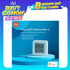Đồng Hồ Đo Nhiệt Độ Và Độ Ẩm Xiaomi Mijia 2 | Nhiệt Kế Ẩm Kế Xiaomi