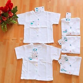 Combo 5 chiếc áo sơ sinh size dưới 10kg