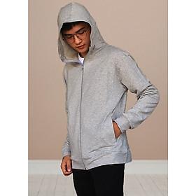 Áo khoác nam cao cấp GOKING, vải da cá dày 100% cotton chống nắng và giữ ấm hiệu quả