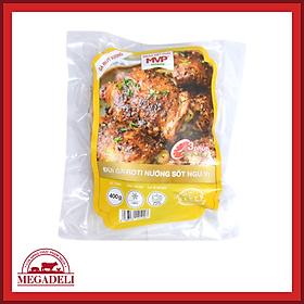 [Chỉ Giao HCM] - Đùi gà roti nướng sốt ngũ vị (gà rút xương) MVP khay 400g