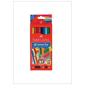 Faber-Castell-11-150-A-Bút Lông Màu Connector - 10 Màu