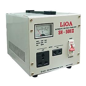 Ổn áp 1 pha LiOA SH-500 II
