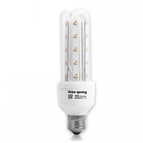Đèn LED compact Điện Quang ĐQ LEDCP01 09727AW (9w, warmwhite, chống ẩm)