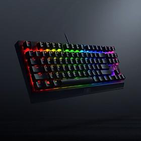 Razer BlackWidow V3 Tenkeyless Wired Gaming Keyboard 87 Keys RGB Mechanical Keyboard with Razer Green Mechanical