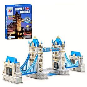 Mô Hình Giấy 3D Magic Puzzle: Cầu Tháp London G268-9