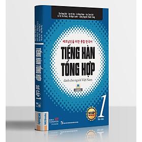 Tiếng Hàn Tổng Hợp Dành Cho Người Việt Nam - Sơ Cấp 1 (Bản In 2 Màu) Tặng Kèm Portcard Những Câu Nói Hay Của Người Nổi Tiếng
