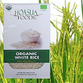 Gạo trắng hạt dài hữu cơ Hoa Sữa 1kg