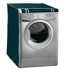 Áo Trùm Máy Giặt Cửa Trước 7 - 9 Kg Vải Dù Chống Rách Chống Thấm Màu Trơn Sang Trọng