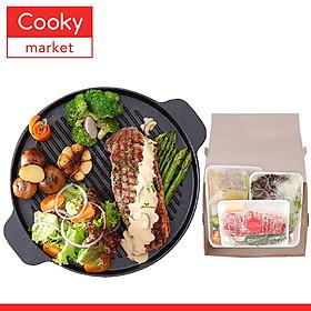 [Chỉ Giao HCM] - Steak Thăn Bò (Tenderloin) Sốt Kem Nấm