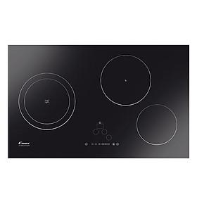 Bếp Âm 2 Điện Từ + 1 Hồng Ngoại Candy CMI732N - Đen - Hàng chính hãng