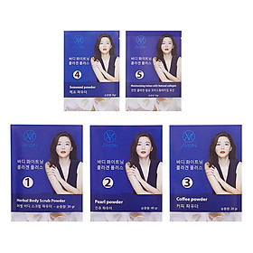 Bộ 5 Gói Tắm Trắng Collagen Thiên Nhiên Amoon
