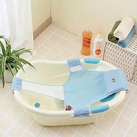 Lưới tắm dạng võng gắn chậu cho bé an toàn gọn nhẹ (tuỳ chỉnh mọi kích thước chậu)