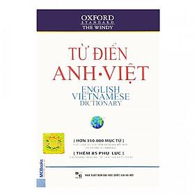 Từ Điển Oxford Anh - Việt (Hơn 350.000 Từ) (Bìa Mềm Màu Trắng) (Tặng Bookmark độc đáo)