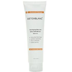 Kem Dưỡng Thể Trắng Da Chống Nắng Ban Ngày Body Maquillage Crème Detox BlanC(180ml) – Dưỡng Trắng, Lam Mờ Sạm Nám, Ngừa Lão Hóa