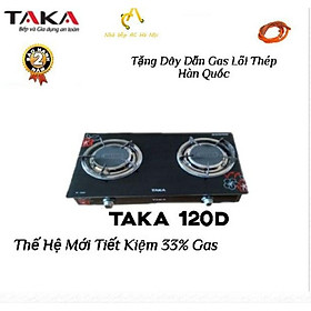 Bếp Ga Dương Kính Cao Cấp Hồng Ngoại TAKA TK120D Hàng Chính Hãng