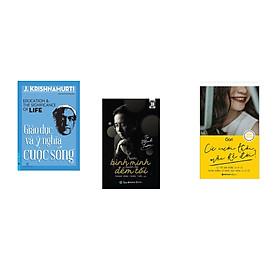 Combo 3 cuốn sách: Giáo Dục Và Ý Nghĩa Cuộc Sống + Trước bình minh luôn là đêm tối (bìa mềm) + Cứ cười thôi mặc kệ đời
