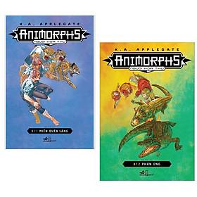[Download Sách] Combo Animorphs - Người Hóa Thú - Tập 11 - Miền Quên Lãng + Animorphs - Người Hóa Thú - Tập 12 - Phản Ứng ( Tặng Kèm Bookmark Thiết Kế )