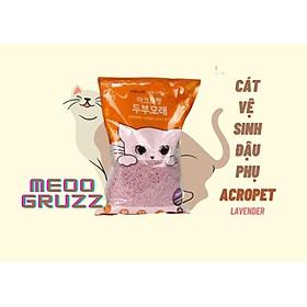 Cát Vệ Sinh Đậu Phụ Cho Mèo ACROPET 5L - Hương Lavender