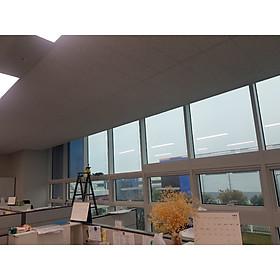 Phim cách nhiệt cửa kính màu xanh trời nhẹ Anygard Hàn Quốc SV – BU chống nắng, chống chói , cắt tia UV dùng cho nhà kính, văn phòng và nhà máy