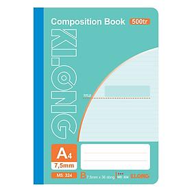Sổ May Dán Gáy Klong A4 MS 324 (500 Trang)