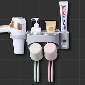 Bộ Giá Kệ Treo Bản Chải Nhả Kem Đánh Răng Tự Động