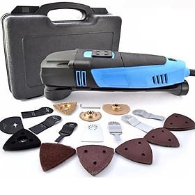Máy cắt rung chà nhám đa năng cầm tay Oscillating Multi Tool Kit