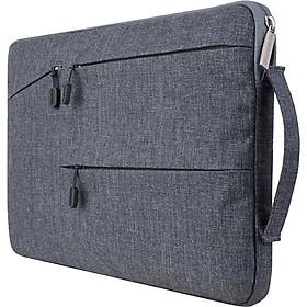 Túi Chống Sốc Macbook Laptop TCS - Xám Đậm