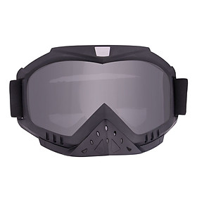 Motorcycle Padding Goggles Anti-UV Dustproof Windproof Riding Glasses  Adjustable Eyewear for Outdoor Sports Actives