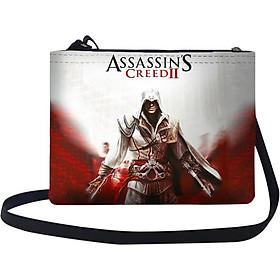 Túi Đeo Chéo Nữ In Hình Assassins Creed - TUGM022 (24 x 17 cm)