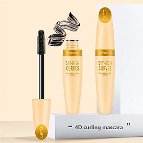 4d Mascara Lasting Smudge-proof Waterproof Natural Curling Slender Dense Mascara Eye-makeup