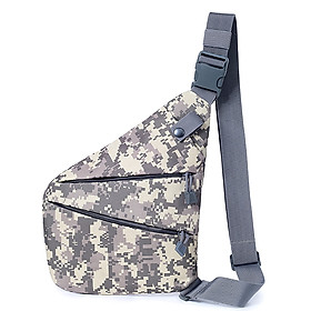 Anti Theft Sling Pack Slim Crossbody Backpack Lightweight Casual Outdoor Sport Travel Hiking Chest Bag