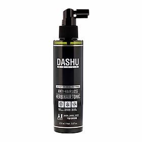 Xịt dưỡng tóc Dashu Daily anti-hairloss herb hair tonic, duong toc Han Quoc chiết xuất từ 9 loại thảo mộc, thành phần hữu cơ tự nhiên, cân bằng PH, làm sạch tế bào chết, tinh chất CPS giảm rụng tóc, chăm sóc, massage bảo vệ da đầu.