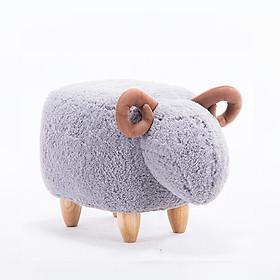 Ghế Đôn Trang Trí Hình Cừu Con đáng yêu Nhập Khẩu Giá Rẻ cho trẻ em
