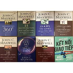 Combo 8 Cuốn của John C. Maxwell